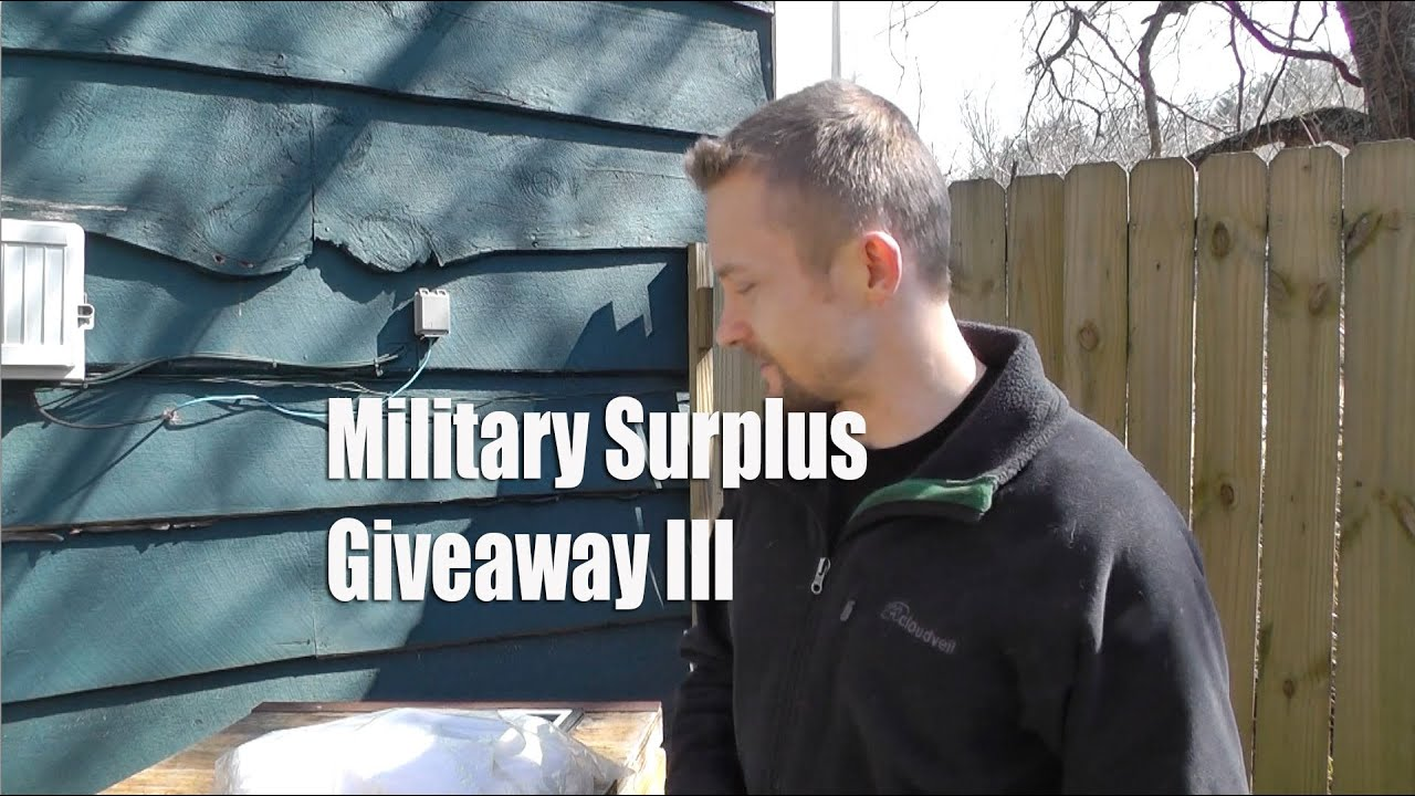 Military Surplus Giveaway III The Outdoor Gear Review