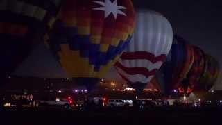 9-8-13 The 2013 Great Reno Balloon Races Glow Show