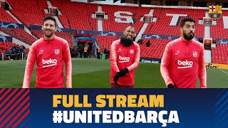 MANCHESTER UNITED 0–1 BARÇA   Full press conference and training session