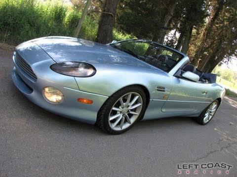 2000 Aston Martin DB7 Vantage Convertible for Sale - YouTube