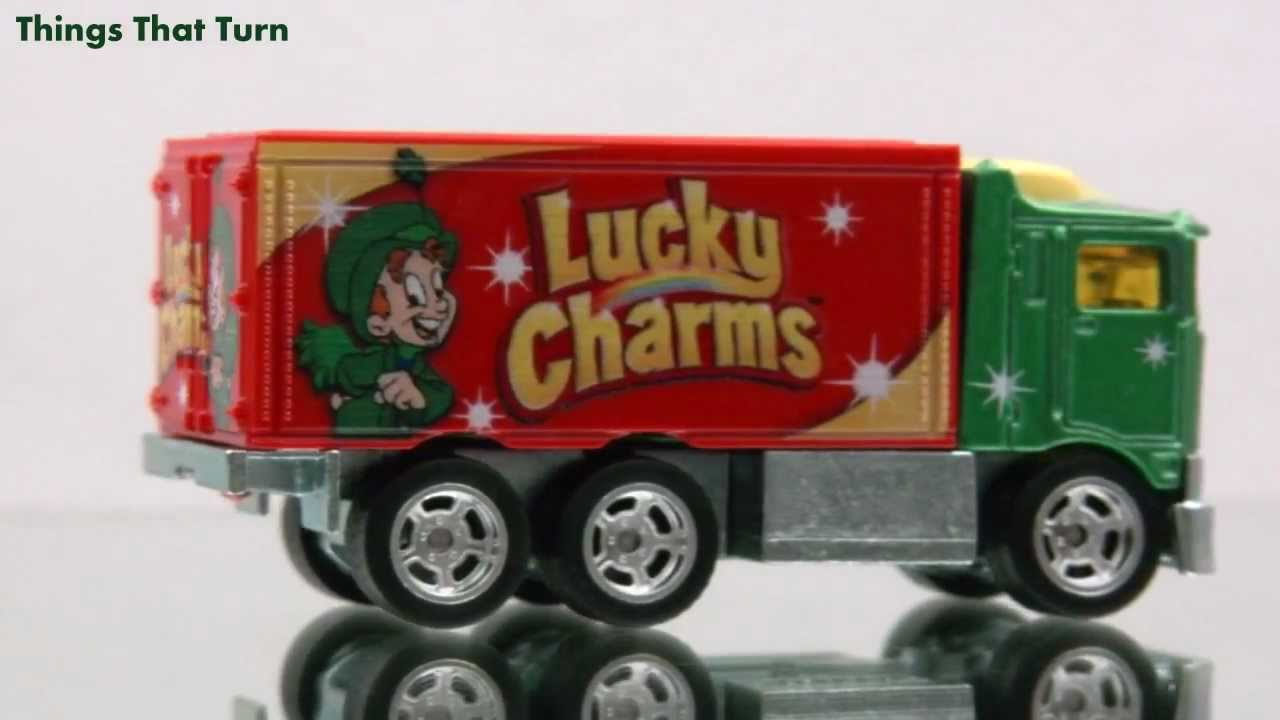 general mills hiway hauler 2011 lucky charms hot wheels