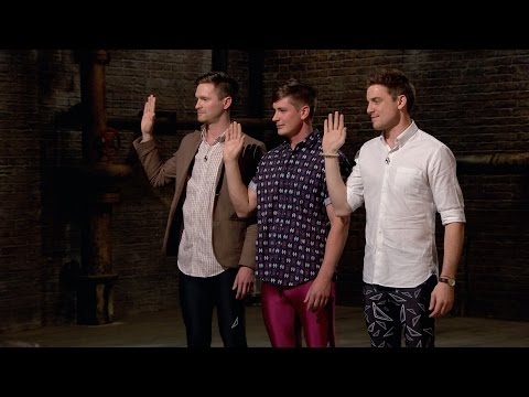 Male leggings? - Dragons' Den: Series 12 Episode 7 Preview - BBC Two