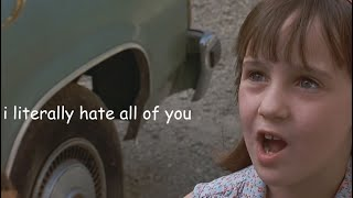 When you watch Matilda as an adult