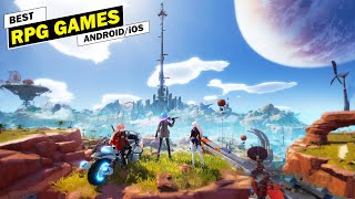 Top 10 Best RṖG Games For Android & iOS Of 2021 [ARPG/RPG/MMORPG]