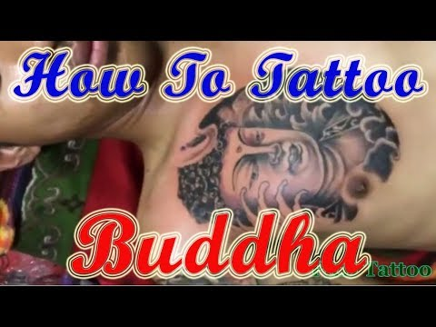 Amazing Tattoo Guy Design Ideas | Best Tattoos In The World | How To Tattoo Buddha