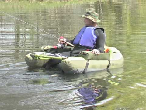 Classic cumberland float tube youtube for Float tubes for fishing