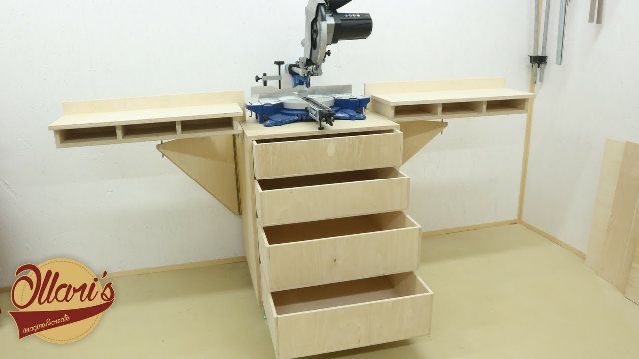The Ultimate Mobile Miter Saw Station Youtube