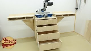 The Ultimate Mobile Miter Saw Station
