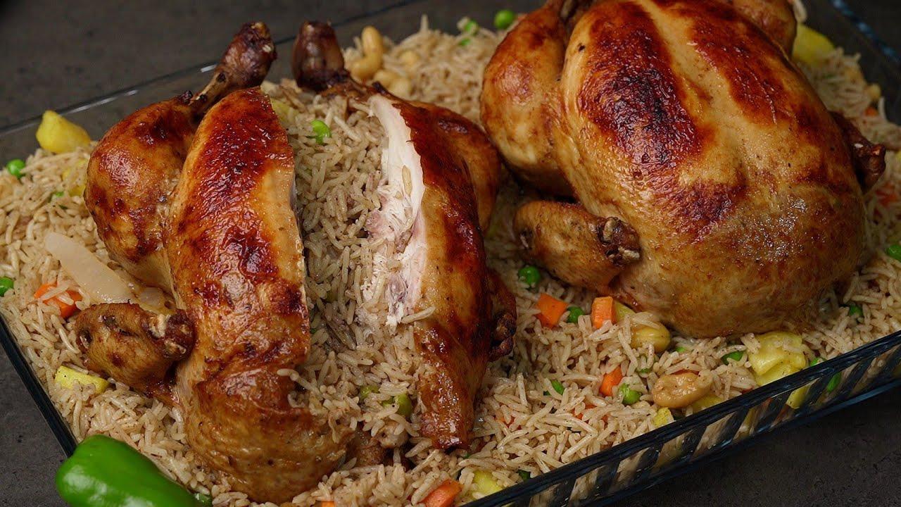 ألذ وصفة دجاج محشي أكلتها على الأطلاق