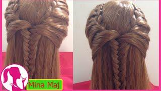 Hairstyles - Hướng Dẫn Tết Tóc  Đáng Yêu Thiên Thần