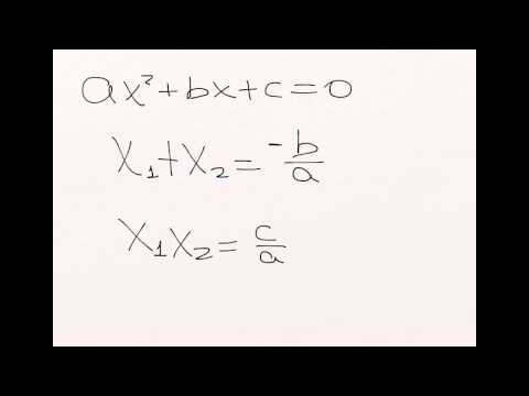 Como calcular suma y producto de las raíces de una ecuación de YouTube · Alta definición · Duración:  5 minutos 35 segundos  · Más de 9.000 vistas · cargado el 25.01.2015 · cargado por Academia Internet
