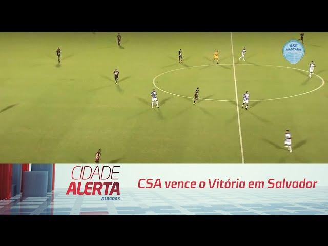 Futebol: CSA vence o Vitória em Salvador