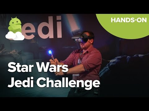 Star Wars Jedi Challenge hands-on from IFA 2017