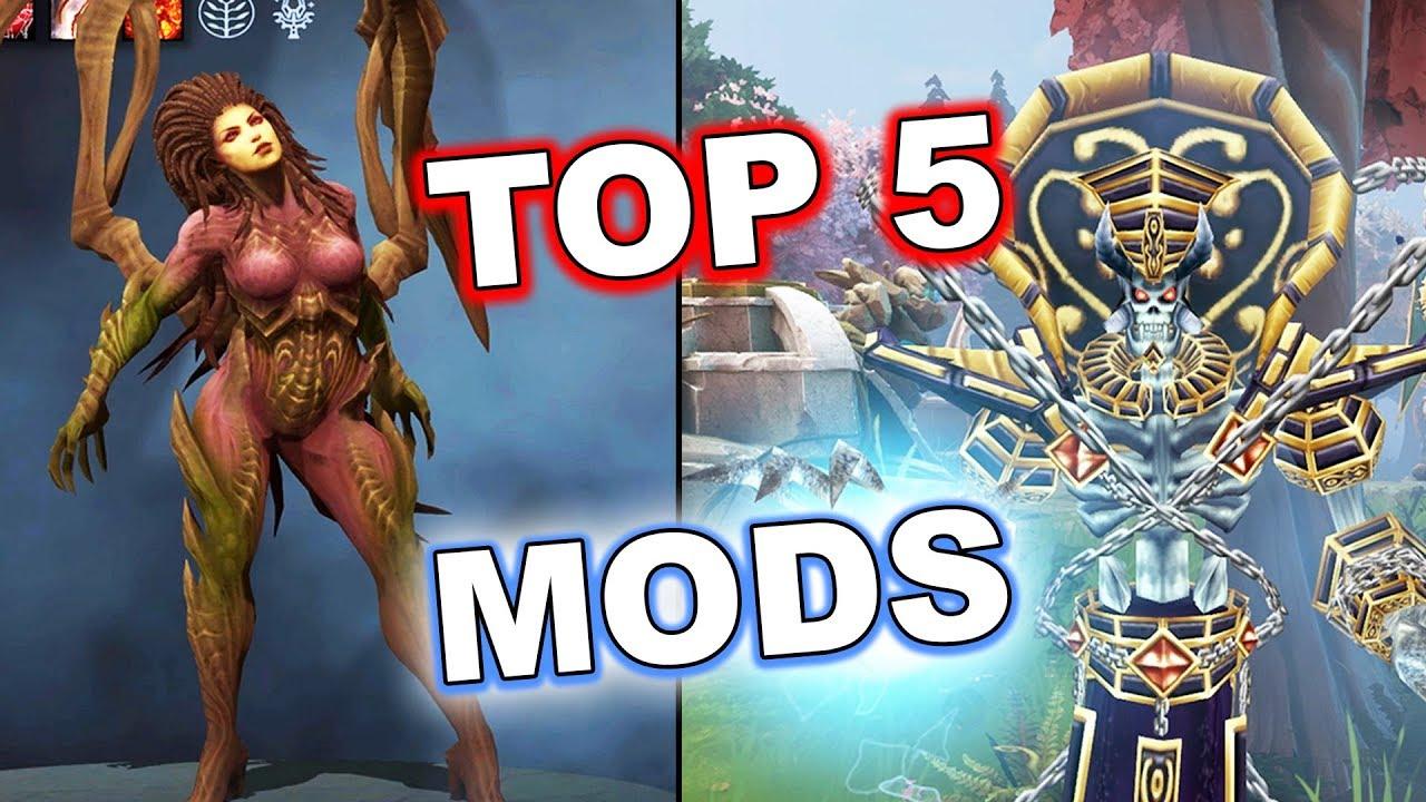 Dota 2 TOP 5 Unofficial Sets (Mods)!