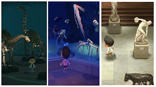 Complete Museum (Including Sea Creatures)  Animal Crossing New Horizons 1.3.0