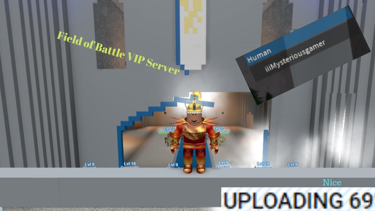Field Of Battle Vip Server Youtube