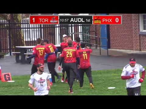 Philadelphia Phoenix vs Toronto Rush, 4/15/18 Full Game