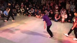 Body Carnival vs Kanamyw BATTLE OF THE YEAR B-GIRL 2 vs 2 FINAL BATTLE 2013
