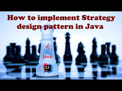 How to implement Strategy design pattern in Java