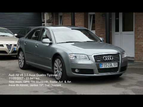 audi a8 3 0 tdi v6 avus quattro tiptronic mouvaux 59 youtube. Black Bedroom Furniture Sets. Home Design Ideas