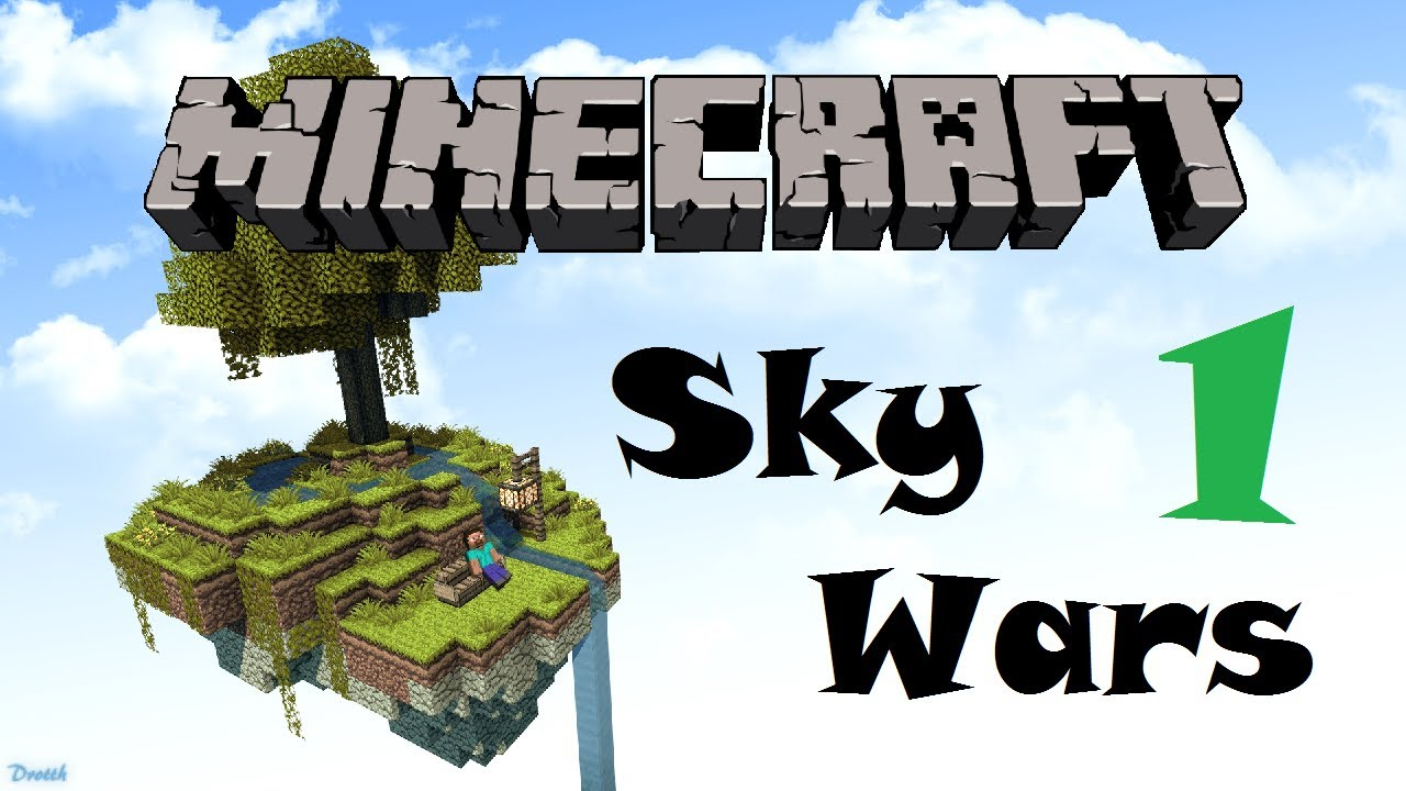 MINECRAFT: WoodyCraft - Sky Wars Mini-Game #1 - YouTube