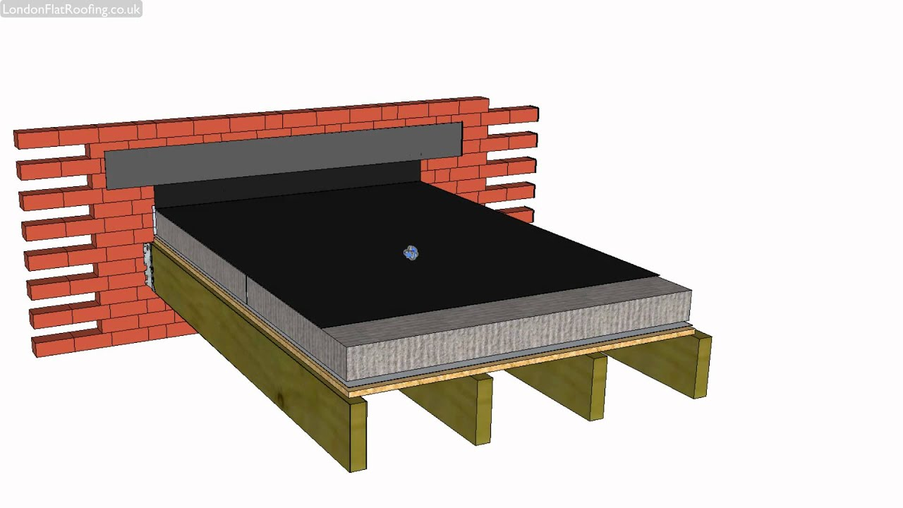 Uncategorized How To Make A Flat Roof warm flat roof construction explained youtube