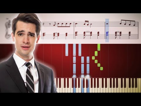 THE BALLAD OF MONA LISA Panic At The Disco - Piano Tutorial + SHEETS