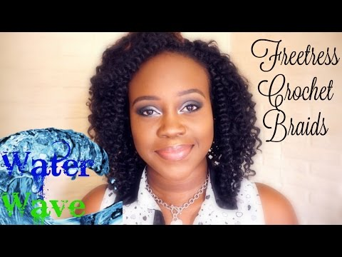 💕HOW TO: CROCHET BRAIDS HAIR TUTORIAL with Freetress Water Wave (Detailed)