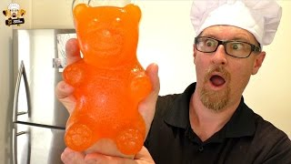 HOW TO MAKE A GIANT GUMMY BEAR