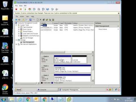 Extend Hard Drive In Windows 2008 Server