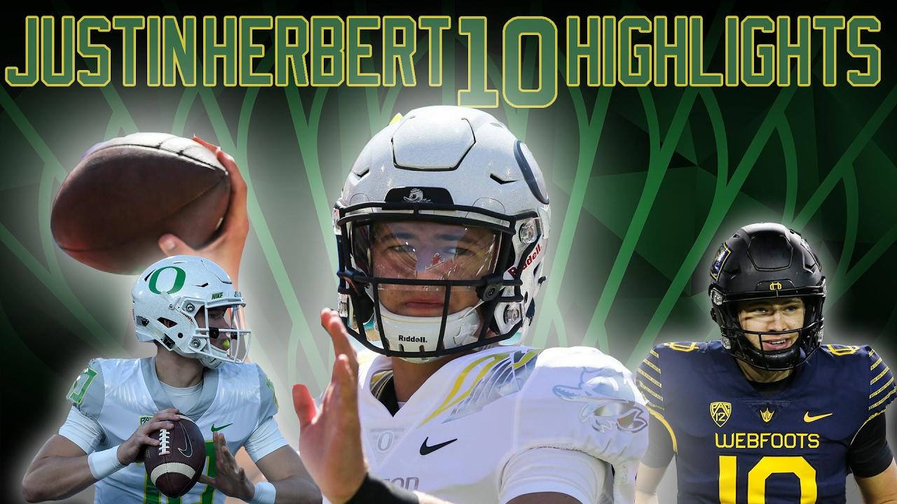 Justin Herbert 2016 Oregon Qb Highlights Freshman Phenom ᴴᴰ Youtube