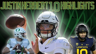 Justin Herbert 2016 Oregon QB Highlights || Freshman Phenom ||ᴴᴰ