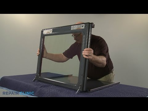 Outer Oven Door Glass - Whirlpool Gas Range (Model #WFG745H0FS1)