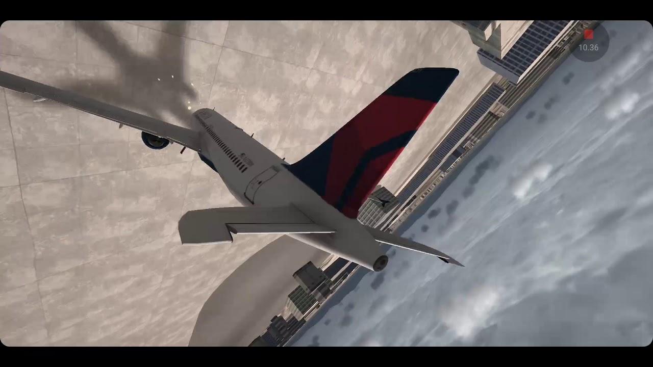 Pesawat Airbus Delta Gagal Terbang