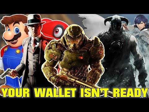 Your Nintendo Switch Is Gonna Empty Your Wallet This Holiday Season...