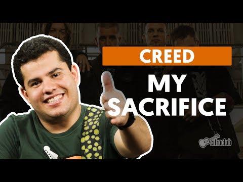 MY SACRIFICE - Creed (aula de guitarra)