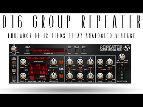 D16 Repeater - Delay Vintage