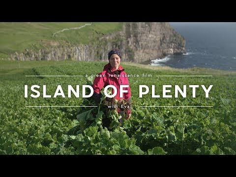 Family living alone on a Remote Island