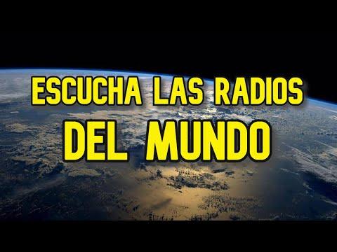 Radios del mundo en tu celular o tu PC
