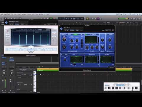 Logic Pro X #producerPOV - Chicago House Vibes