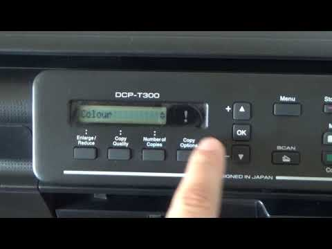 How to clean Printer Head Brother DCP-T300, DCP-T700W, DCP-T500W, DCP-T800W