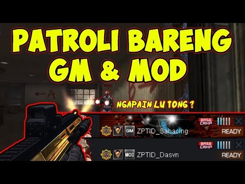 PATROLI BARENG GM & MOD PB !! - POINTBLANK INDONESIA