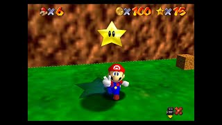 "SM64 [TAS] - WF 100 coins + Red Coins on the Floating Isle (53""13)"