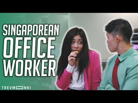 Lazy Singaporeans in an Office