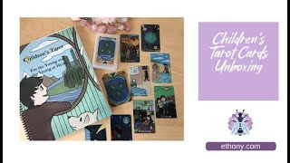 The Children's Tarot Deck and Coloring Book Unboxing and First Impressions