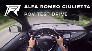 2017 Alfa Romeo Giulietta 1.4 Turbo MultiAir 170 - POV Test Drive