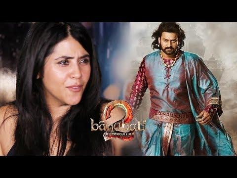Baahubali 2 फिल्मों की Category में नहीं आती है - Ekta Kapoor का अजीब Reaction