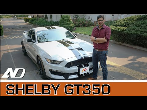 Ford Shelby GT350 - Nada que envidiarle a los europeos.