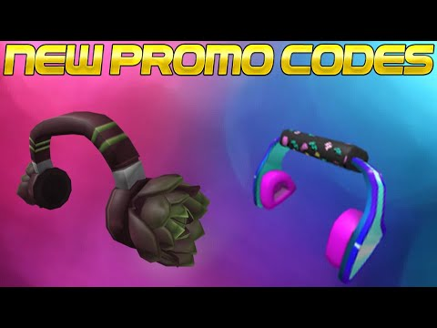 BRAND NEW ROBLOX PROMO CODES FOR HEADPHONES! (Gnarly Triangle Code EXPIRED)