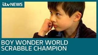 World scrabble champion, aged just 7, from south London | ITV News